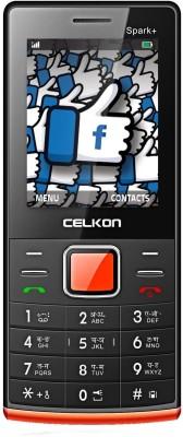 Celkon Spark+(Black & Red)