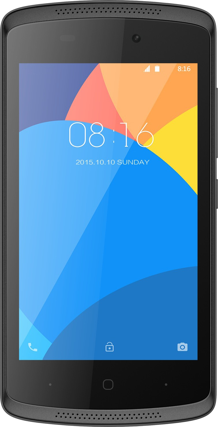 Intex Aqua Lite (Black, 4 GB)(512 MB RAM)