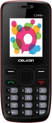 Celkon C349(Black & Red)