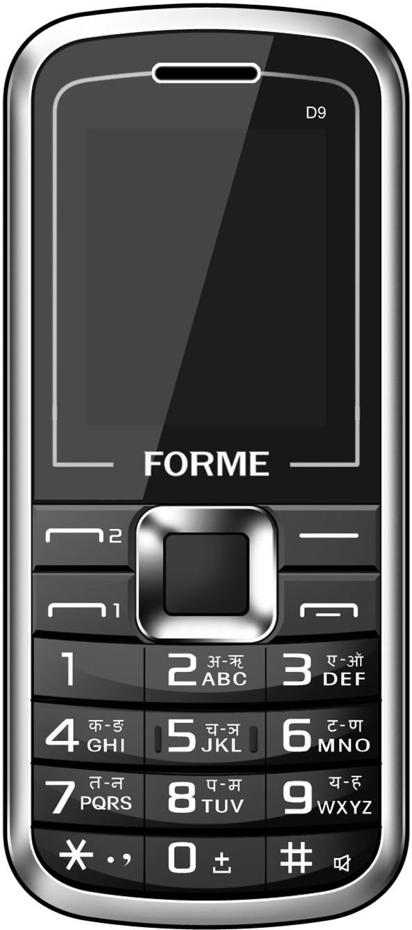 Forme D9 Black(Black)