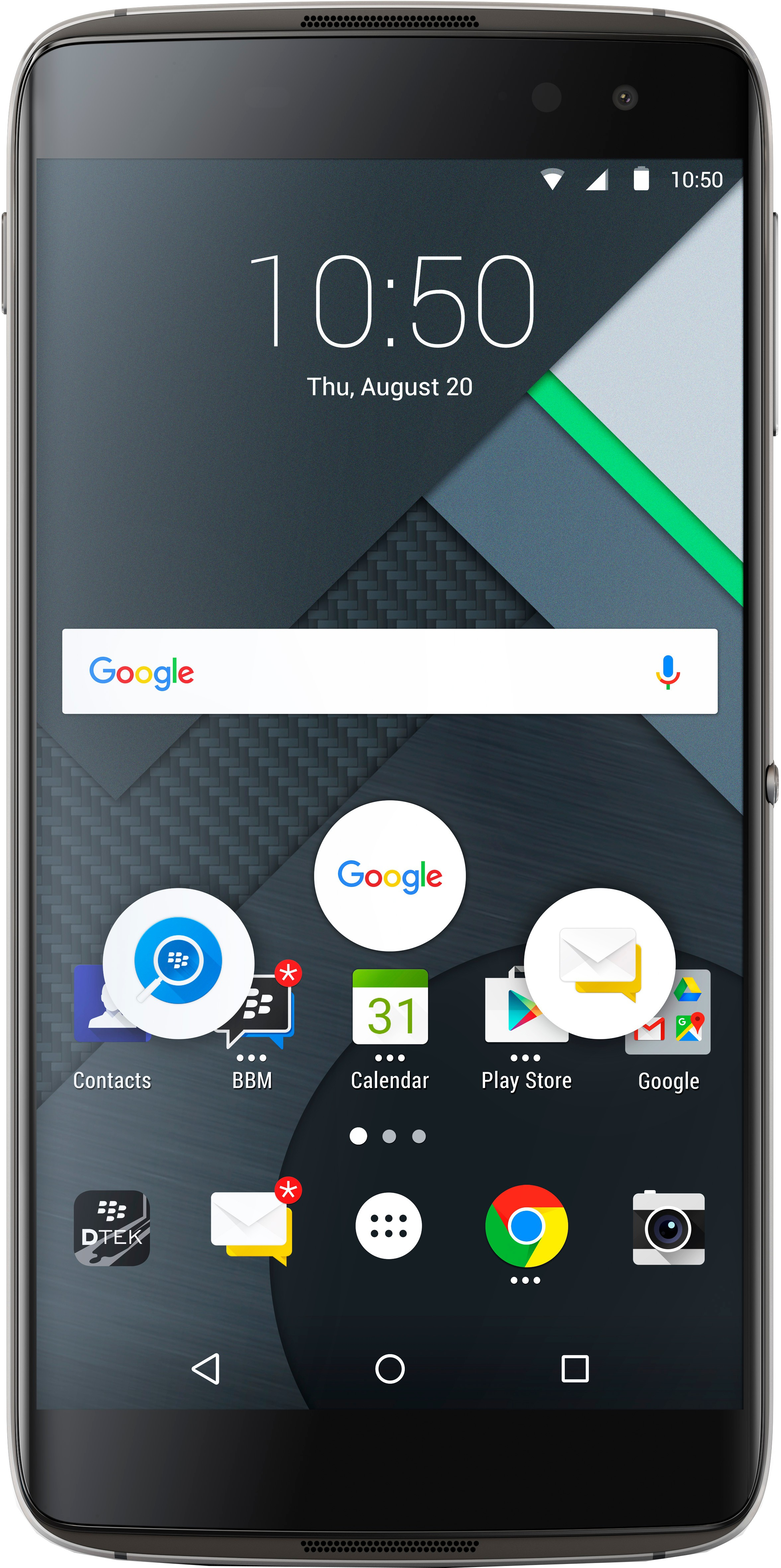 View Blackberry Optiemus (Titanium Silver, 32 GB)(4 GB RAM) Mobile Price Online(BlackBerry)