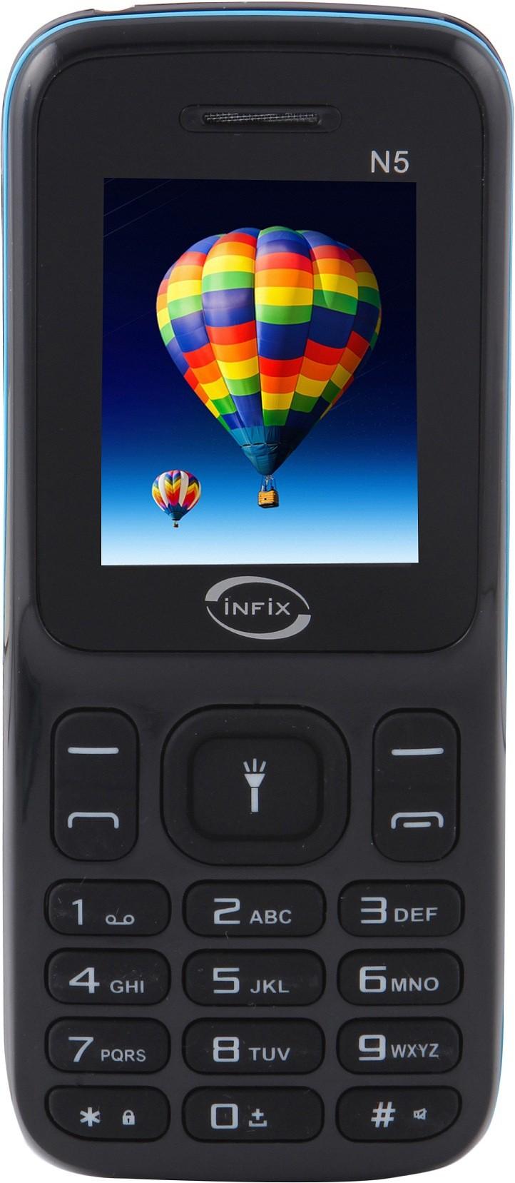 Infix N5(Black & Sky Blue)