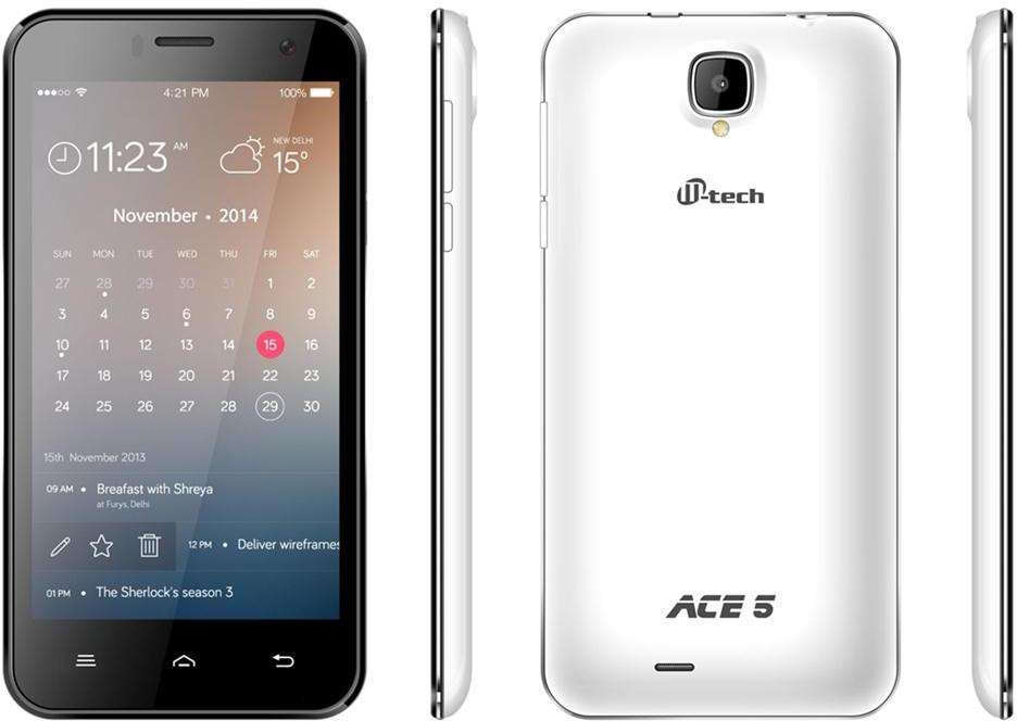 MTech Ace 5 (512MB RAM, 4GB)