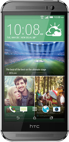 HTC One M8 (Gunmetal Grey, 16 GB)(2 GB RAM)