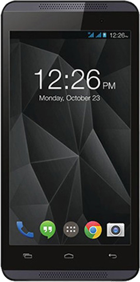 Micromax Canvas Fire A107 Dual Sim - Black (Black, 8 GB)(1 GB RAM)