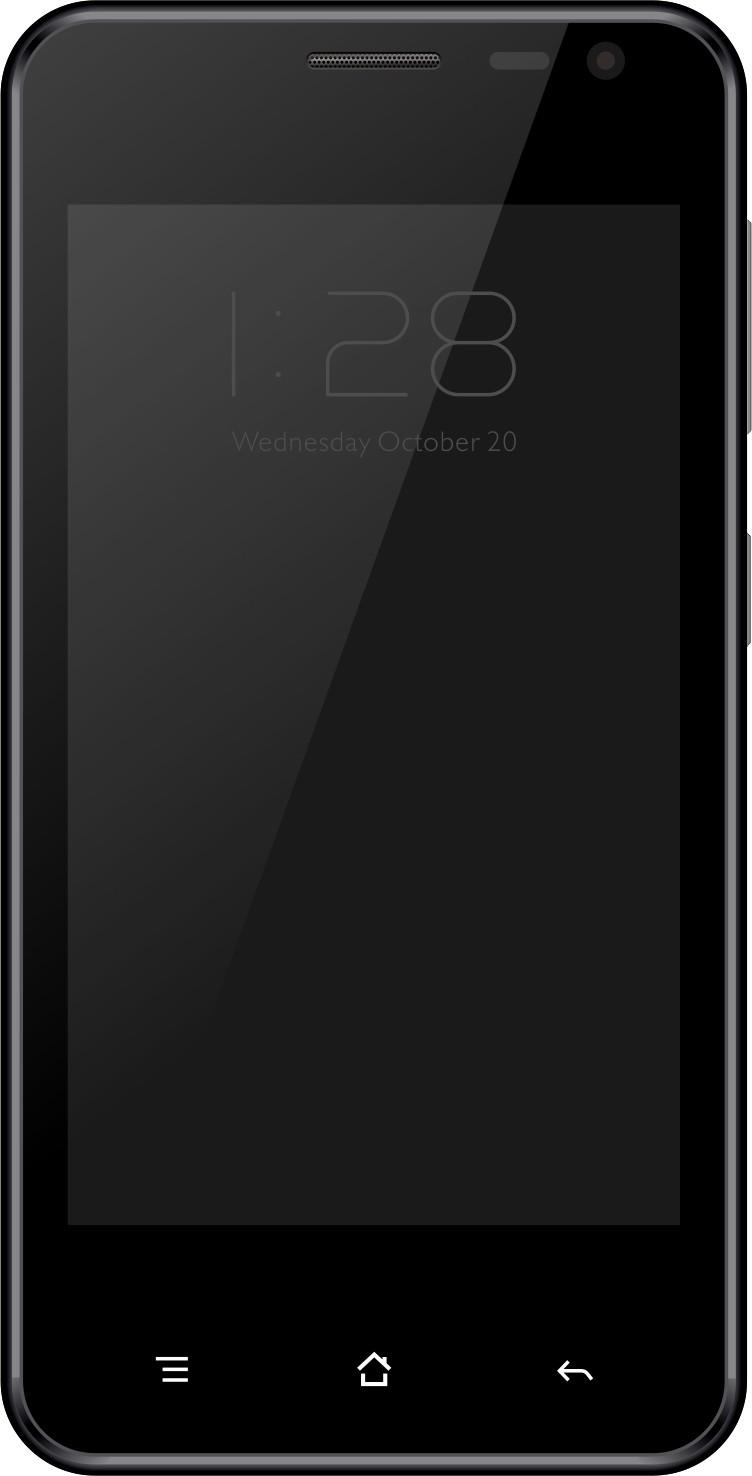 Intex Aqua E4 (Iron Grey, 8 GB)(1 GB RAM)