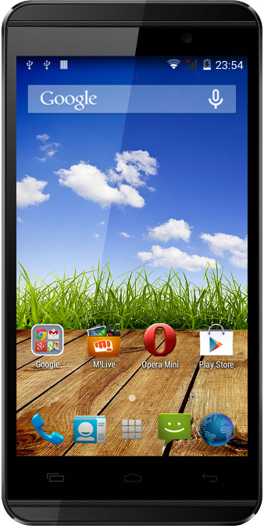 Micromax Canvas Fire 2 A104 (Black Gold, 4 GB)(1 GB RAM)