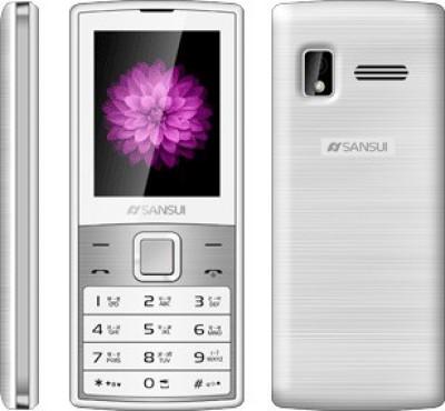 Sansui X40 (White & Silver, 128 MB)