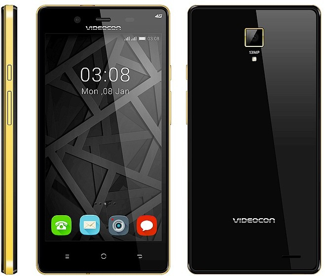 Videocon Infinium Z55 Krypton (Black, 8 GB)(1 GB RAM)