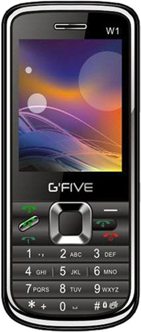 Gfive W1(Grey ( Four Sim, 3000 mAh Battery))