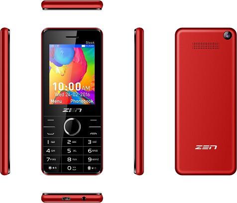 Zen Z10 Sleek(Red)
