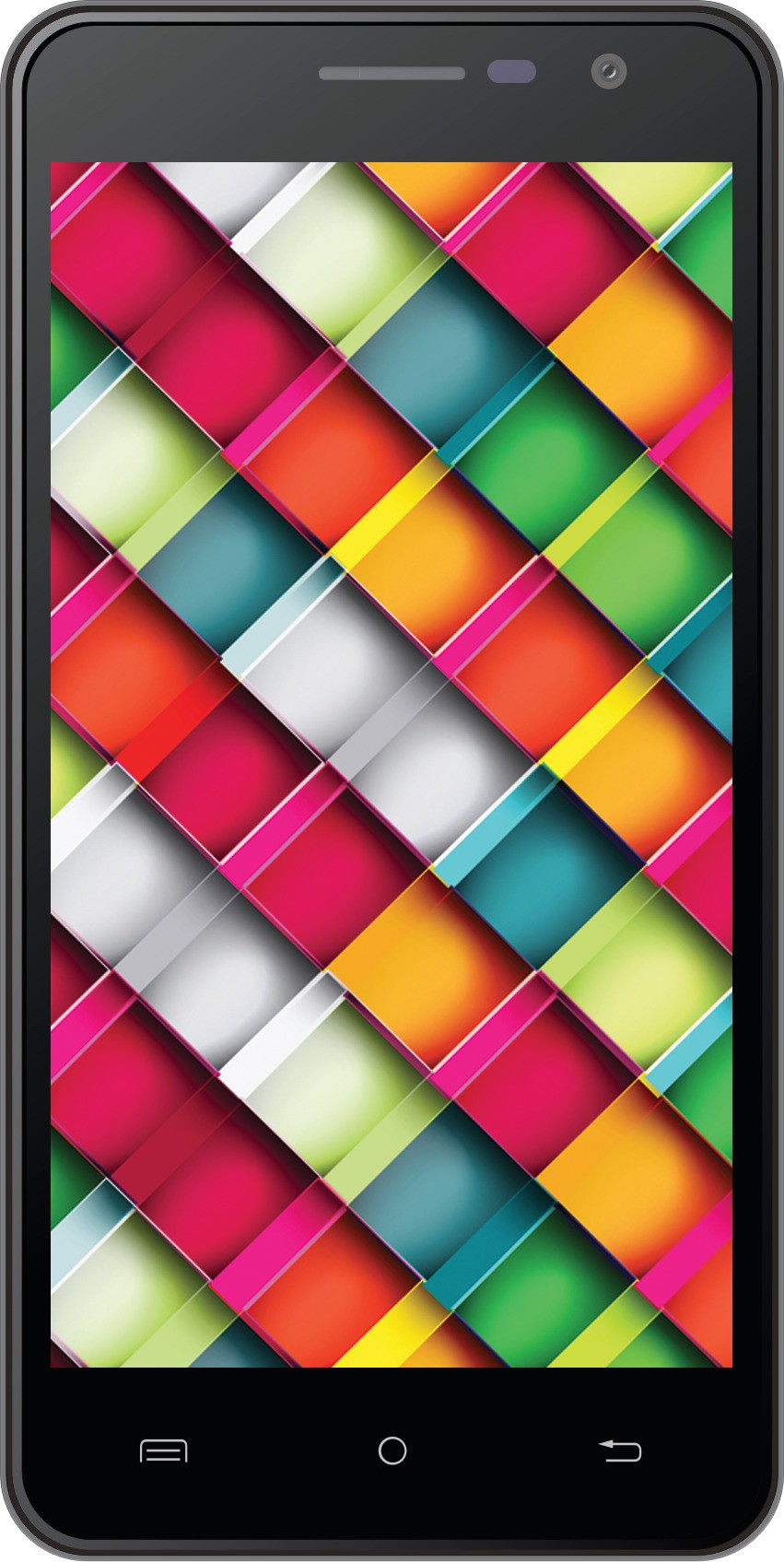 Intex Cloud Crystal 2.5D (Black, 16 GB)(3 GB RAM)