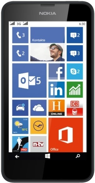 Nokia Lumia 630 (Black, 8 GB)(512 MB RAM)
