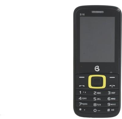 BLU S-16 (Black, Yellow, 32 MB)