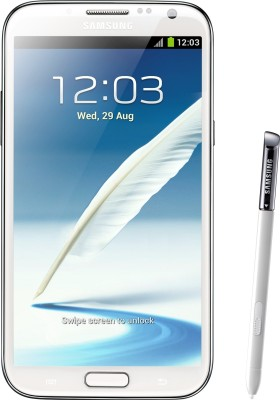SAMSUNG Galaxy Note 2 (Marble White, 16 GB)
