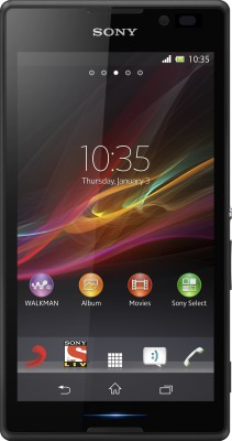 Sony Xperia C (Black, 4 GB)