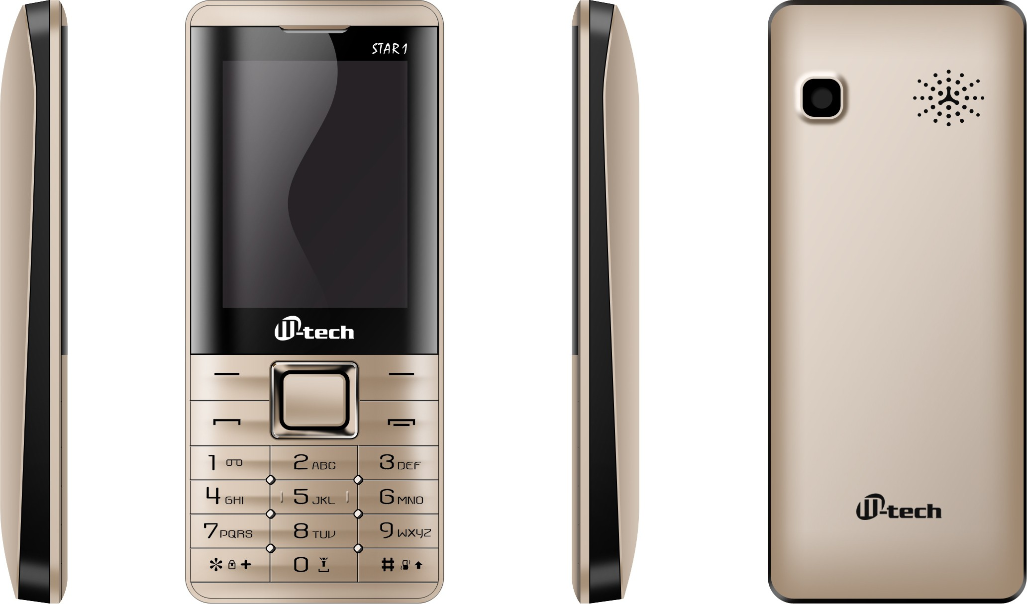 M-tech Star1(Gold)