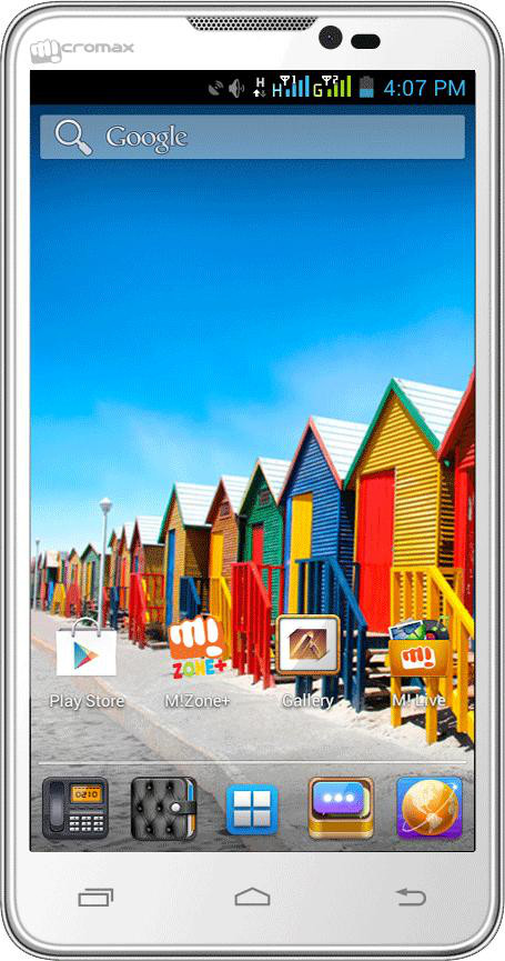 Micromax Canvas Doodle A111 (White, 4 GB)(512 MB RAM)