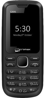 Micromax C205(Black)