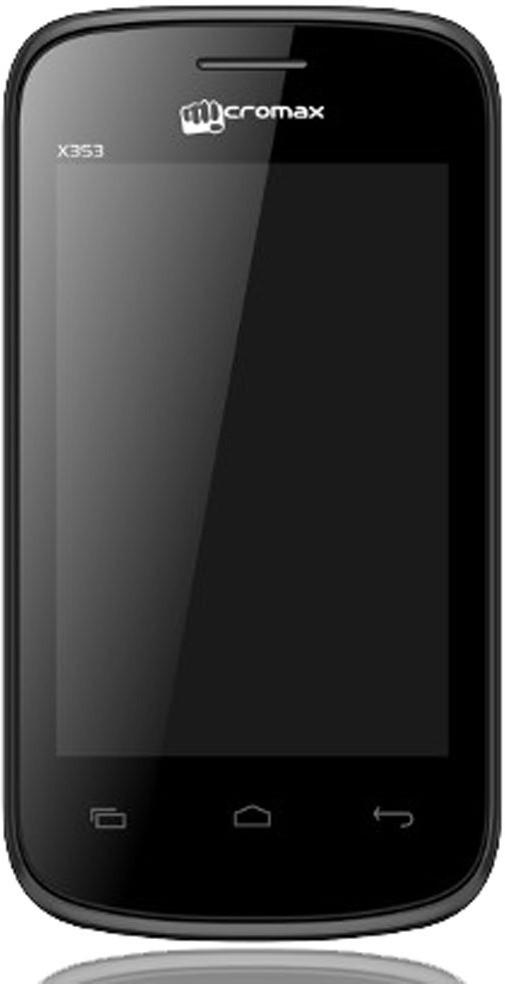 Micromax X353 Dual Sim (Grey, 256 MB)(256 MB RAM)