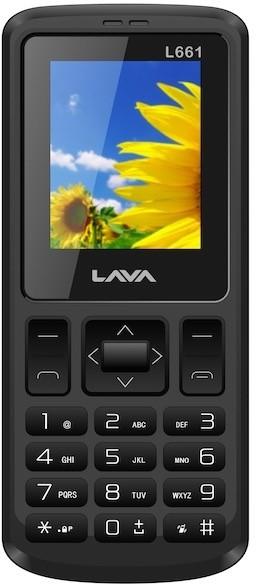 Lava L 661 CDMA(Black)