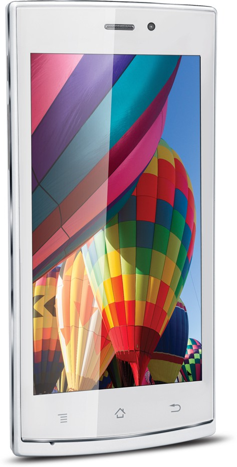 iBall Andi 4.5p IPS Glitter (White & Chrome, 4 GB)(1 GB RAM)
