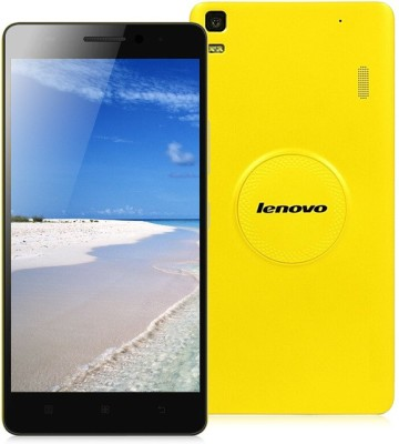 Lenovo K3 Note Music Edition  Yellow, 16  GB  2  GB RAM  available at Flipkart for Rs.9975