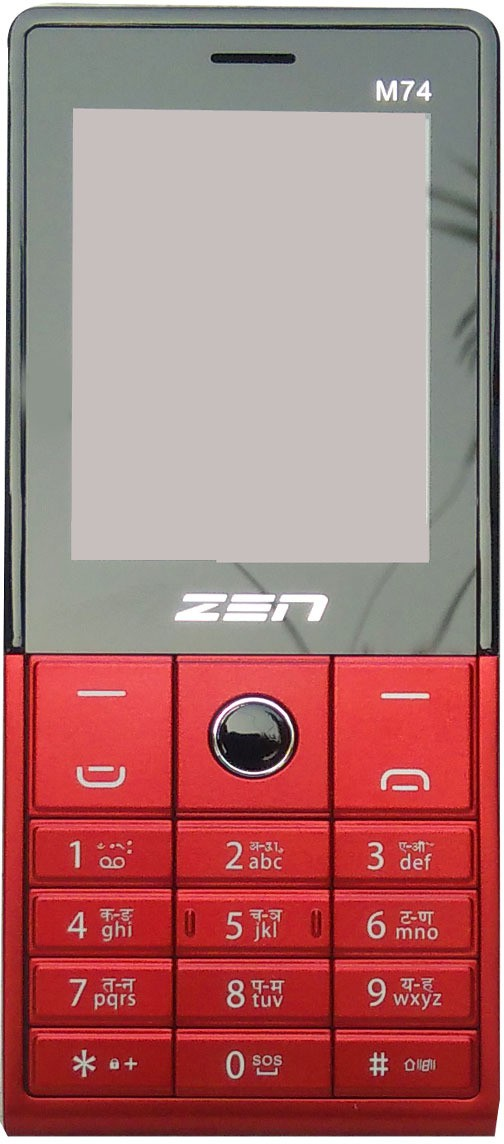Zen M74(Red/Black)
