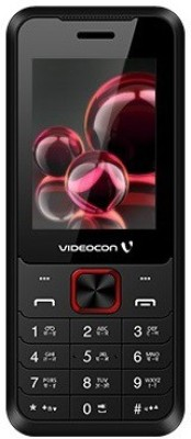 Videocon Bazoomba V2FA(Black & Red)