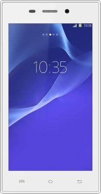 Karbonn A6 Turbo (White 4 GB)(512 MB RAM)