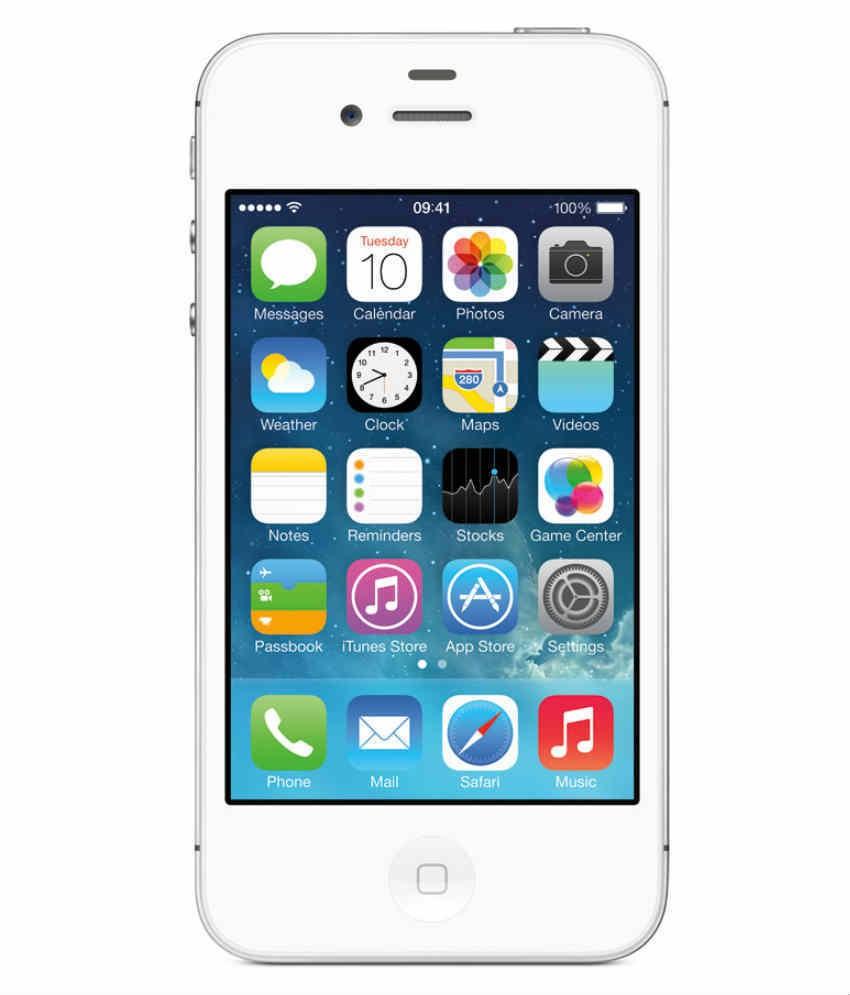 Apple iPhone 4S (512MB RAM, 16GB)