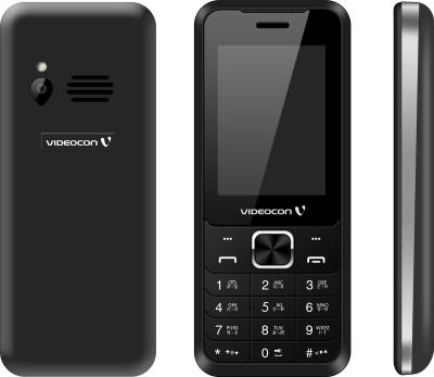 Videocon V2FA3 (Black & Chrome Silver, 32 MB)