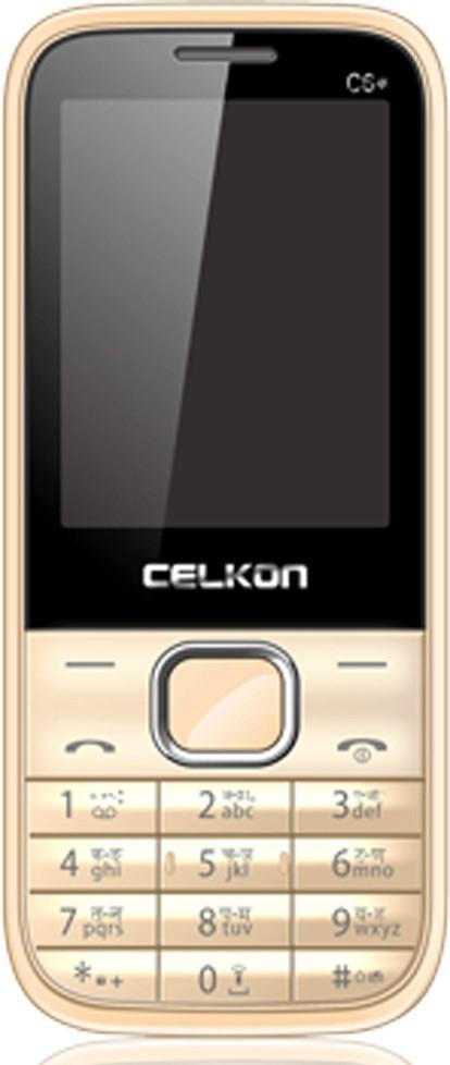 Celkon C6 star(White & Gold)