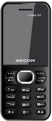 Adcom X4 (Lovee) Dual Sim Mobile-Black (Black, 32 MB)