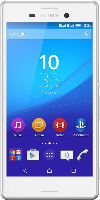 Sony Xperia M4 Aqua Dual (White, 16 GB)(2 GB RAM)