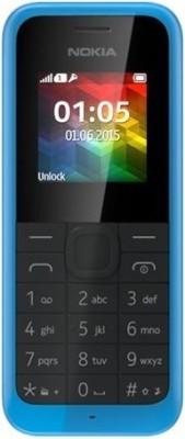 Nokia 105 SS - Cyan Color (Cyan, 8 MB)