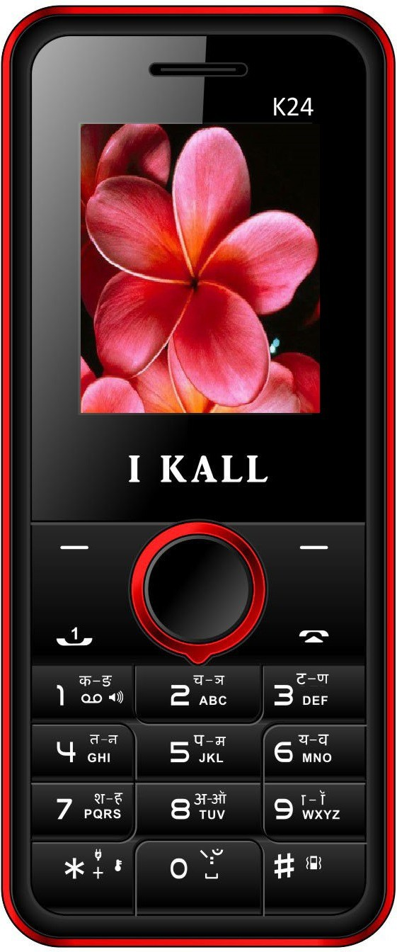 I Kall K24 with Leather Back(Black & Red)