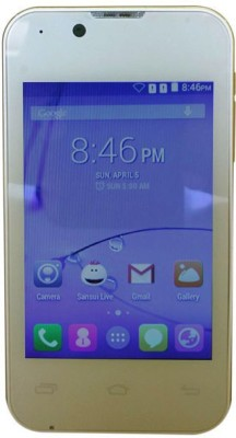 Sansui U30 (White, Golden, 512 MB)