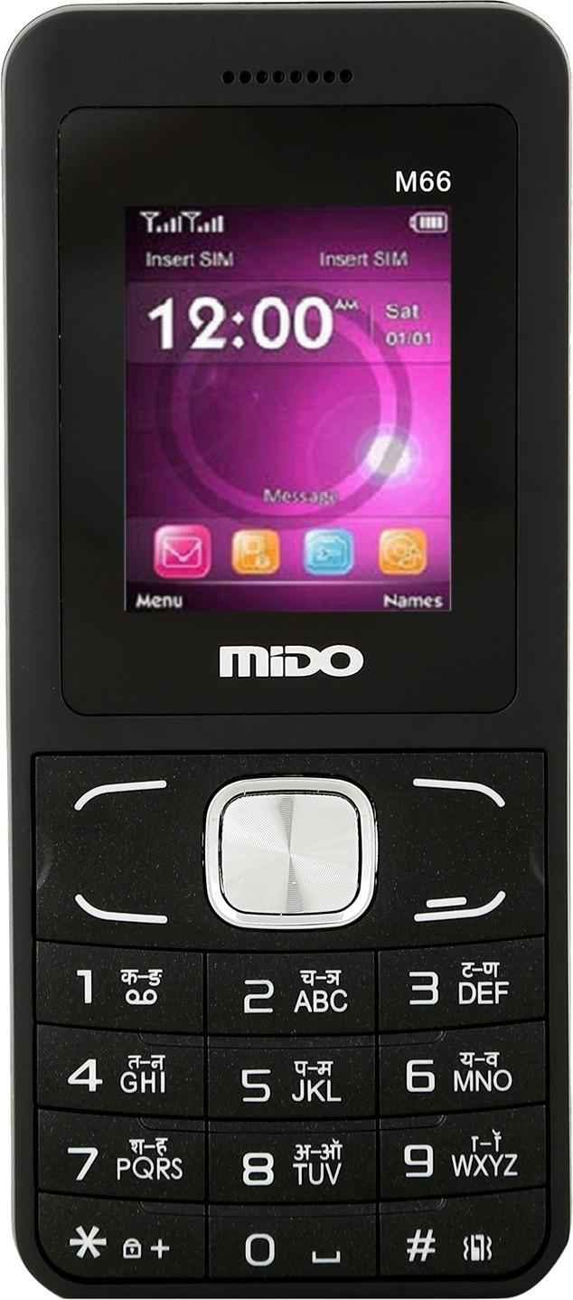 Mido M-66(Black & Red)