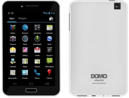 Domo nTice G12 (White, 4 GB)(512 MB RAM)