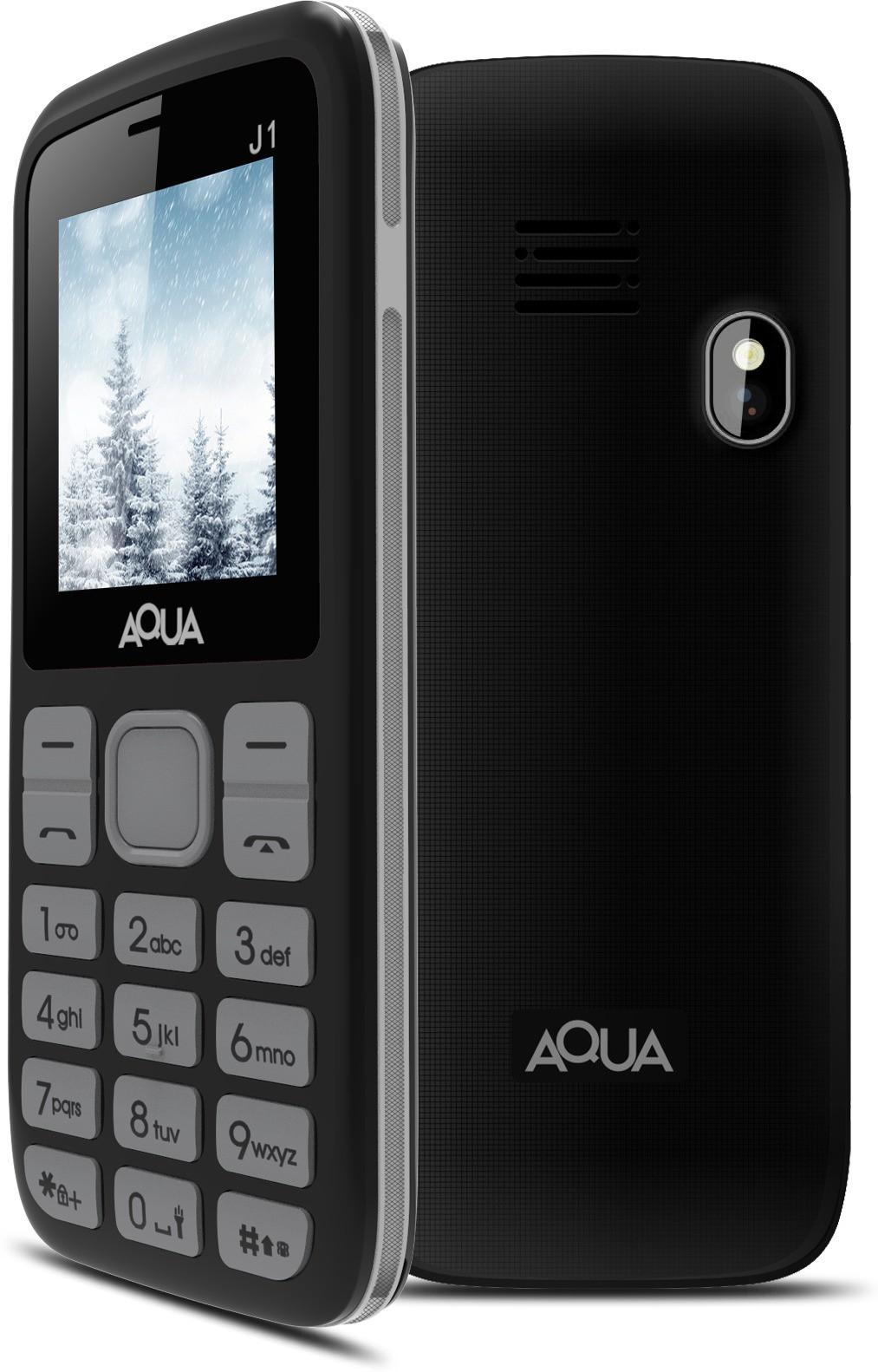 Aqua J1(Black & Silver)