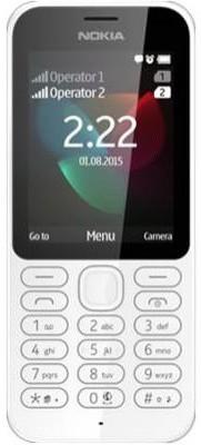 Nokia 222 (White, 16 MB)