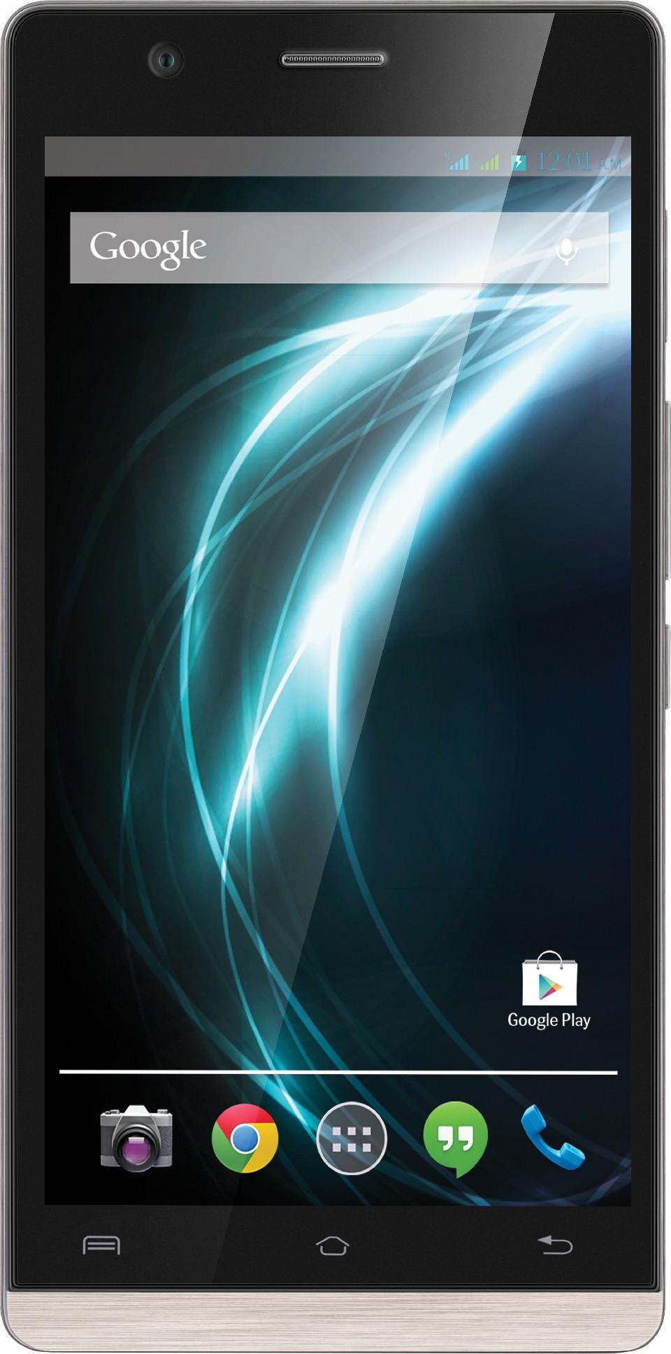 Lava Icon (Black, 16 GB)(2 GB RAM)
