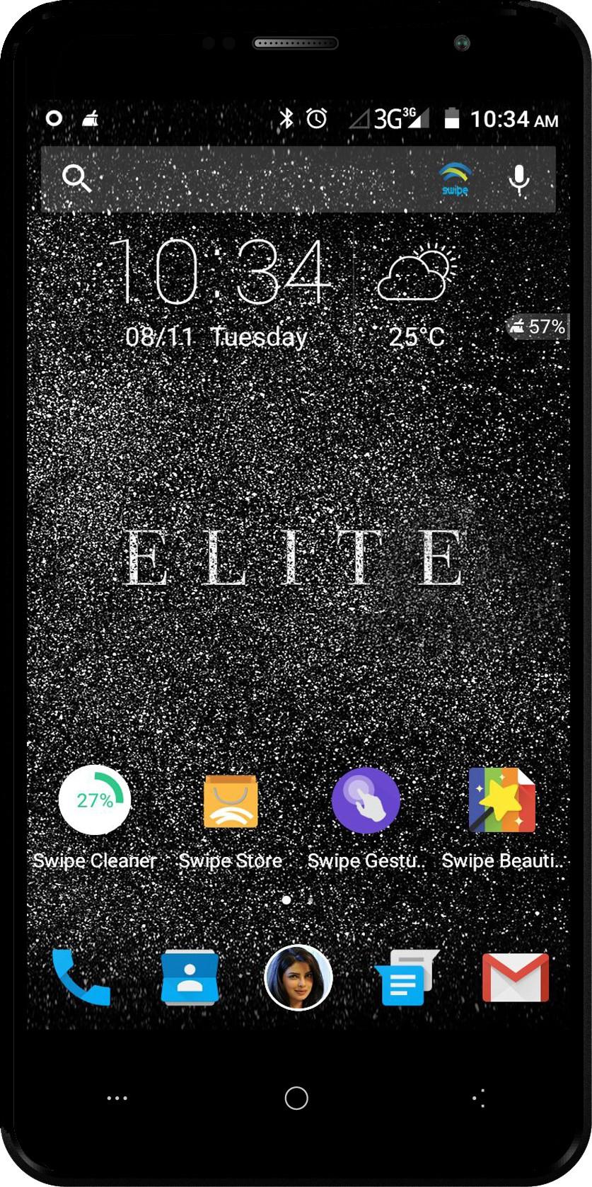 Swipe ELITE (Black, 16 GB)(2 GB RAM)