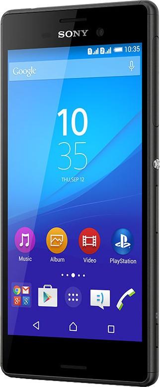 Sony Xperia M4 Aqua Dual (Black, 16 GB)(2 GB RAM)