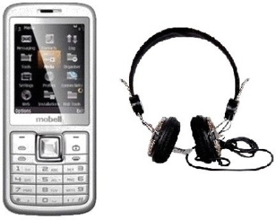 Mobell MOBELL M330 with Envent Headphone (Black, )