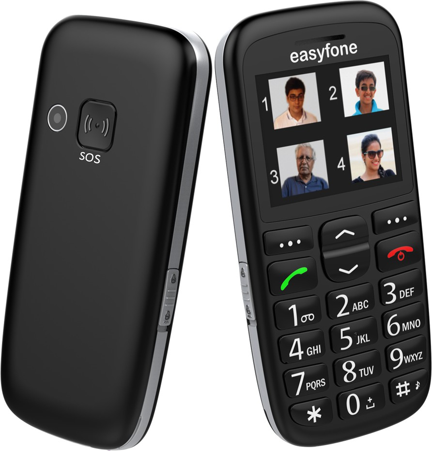 Seniorworld Easyfone(Black)