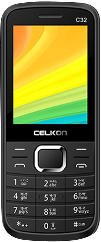 Celkon Dual Sim - Black & Red