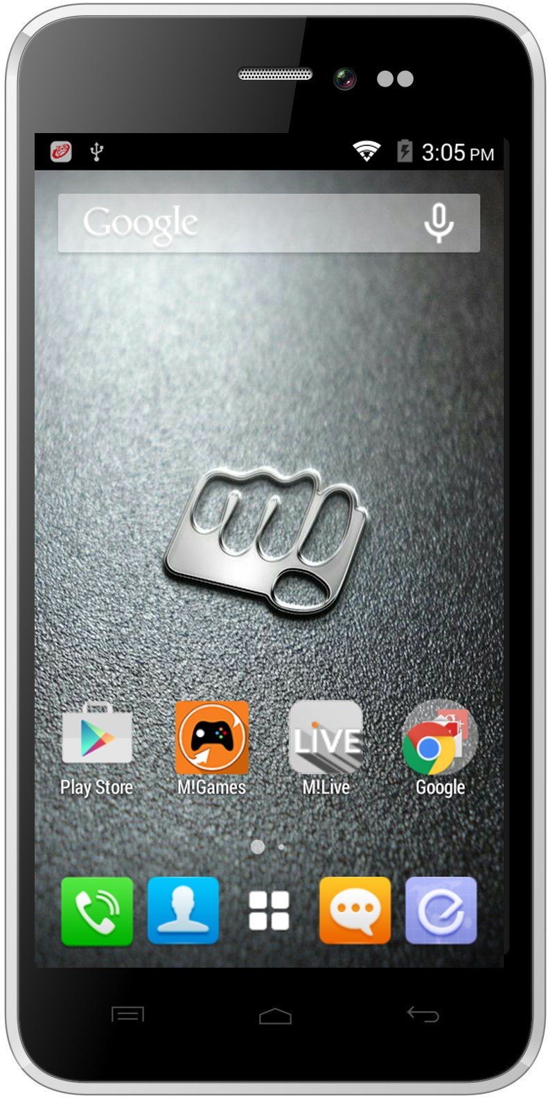 Micromax Canvas Pep Q371 (White, 8 GB)(1 GB RAM)