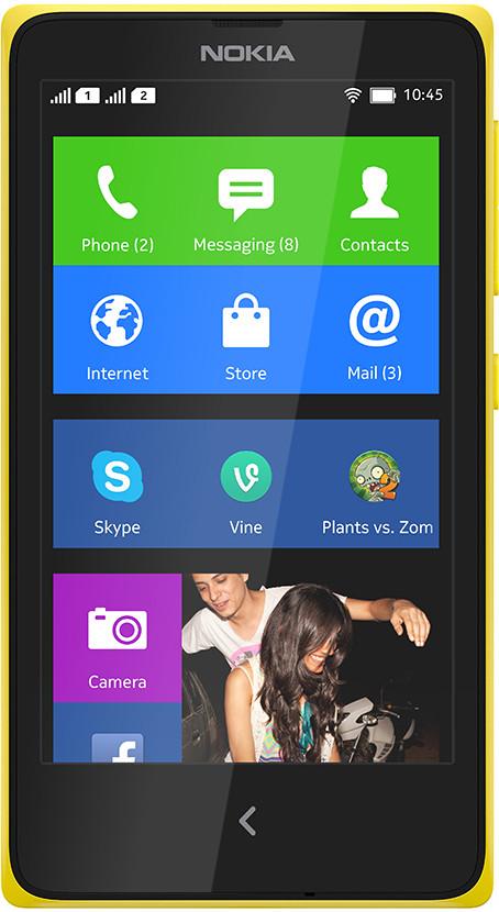 Nokia XPlus (Yellow, 4 GB)(768 MB RAM)